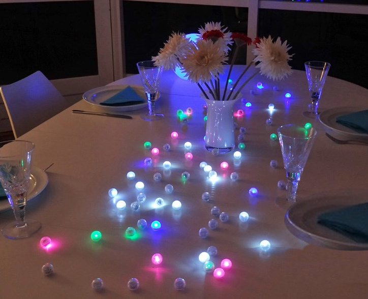 Table decorations light up best inspiration for lamp